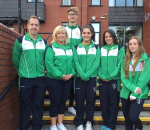 Jack McMillan with Team NI off to CYG in the Bahamas